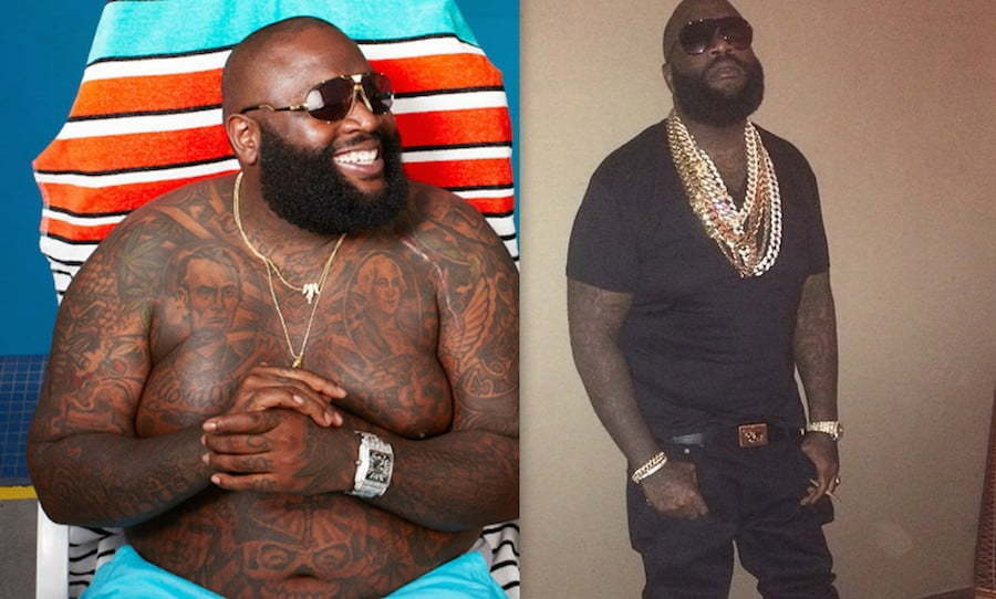 Rick Ross before and after weight loss