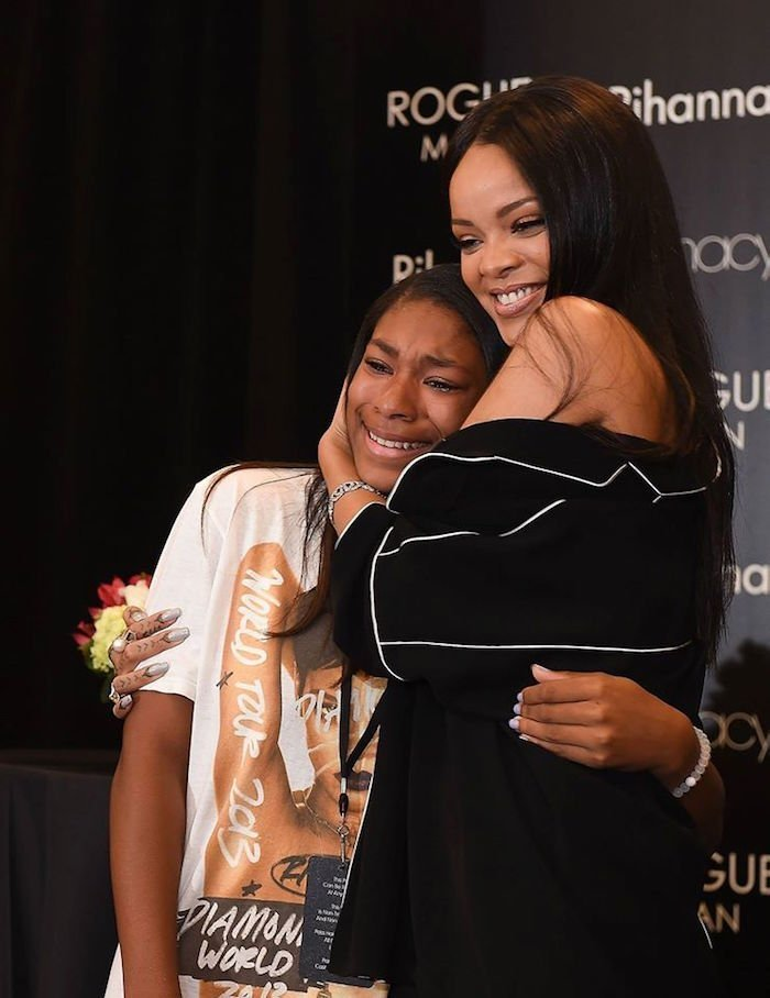 Rihanna in Atlanta