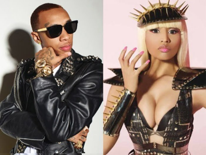 Tyga and Nicki Minaj feud