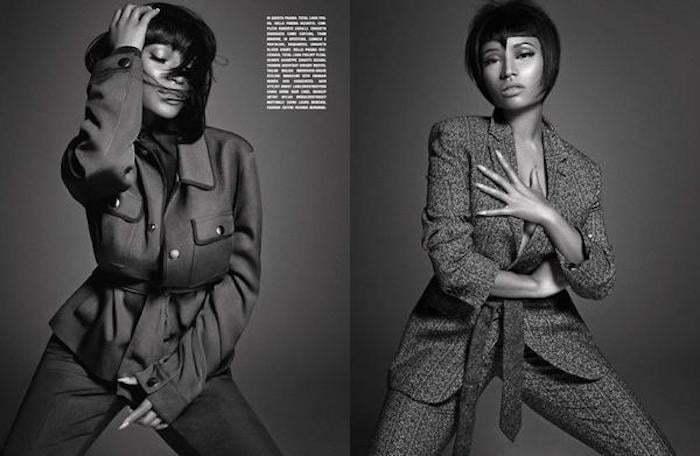 """Nicki Minaj Featured In """"L'Uomo Vogue"""" Magaine For Men"""