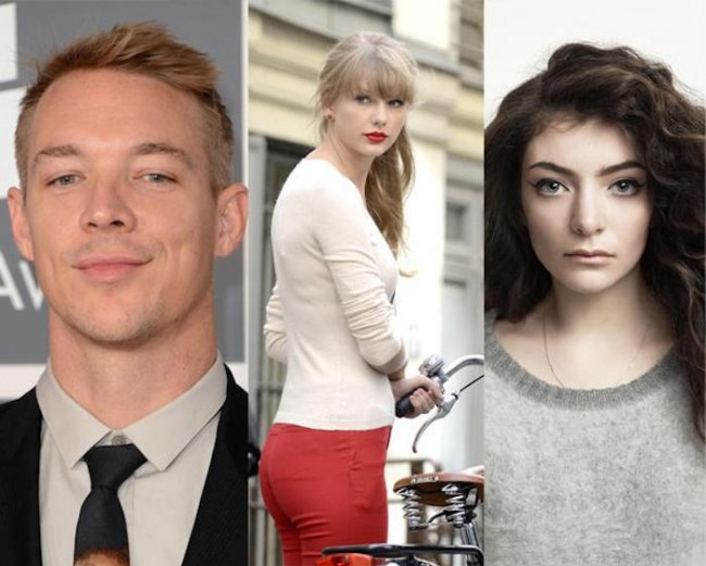 Diplo And Lorde Twitter Beef Over Taylor Swift Ass-ets