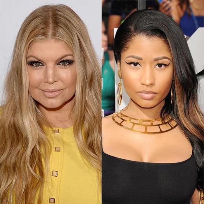 Fergie and Nicki Minaj