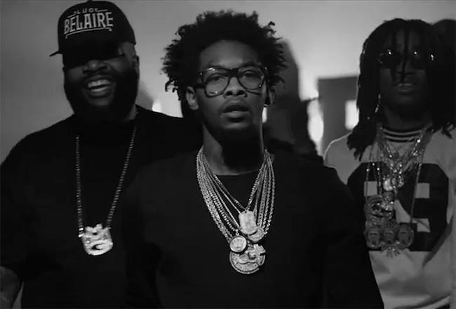 Migos and Rick Ross video