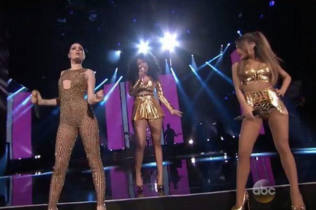 Nicki Jessie J Ariana AMAs