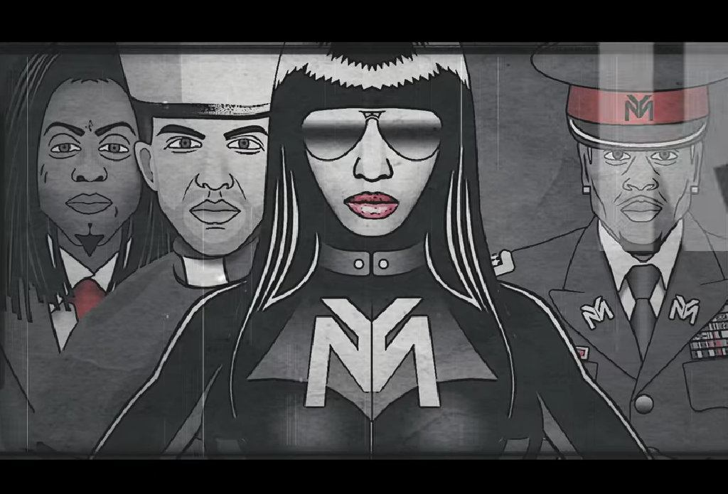 Nicki Minaj Only Lyric Video