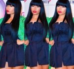 Nicki fashion at EMAs