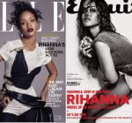 Rihanna Elle and Esquire cover