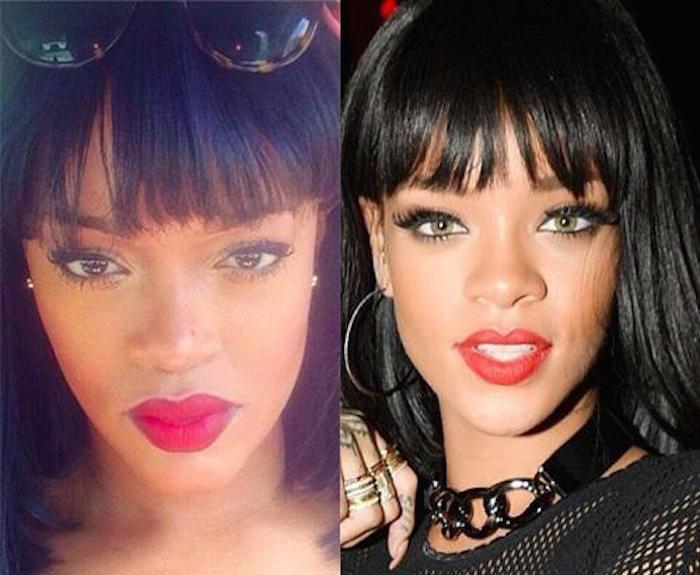 Rihanna look-a-like
