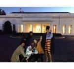 Rihanna visit the White House