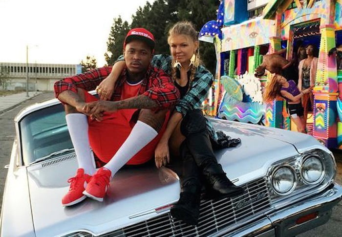 YG and Fergie video