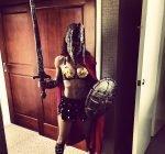 Teyana Taylor Gladiator Halloween