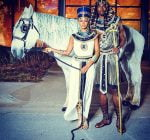 Keri Hilson and Serge Ibaka halloween