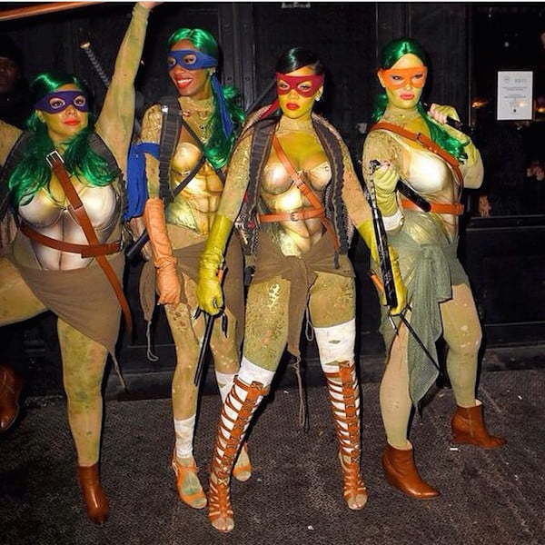 Rihanna Ninja Turtles