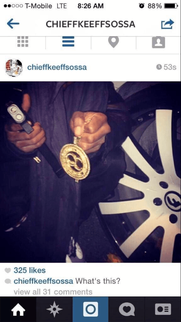 chief keef instagram
