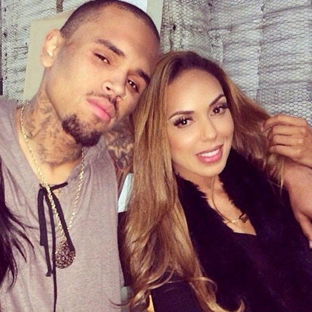 Chris Brown and Stephanie Moseley