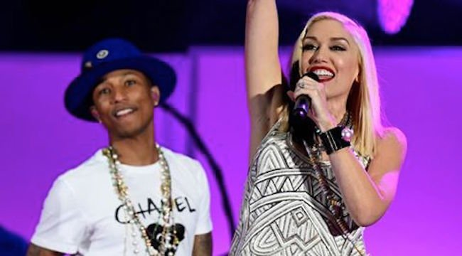 Gwen Stefani and Pharrell The Voice