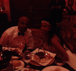 Memphis Bleek and his wife