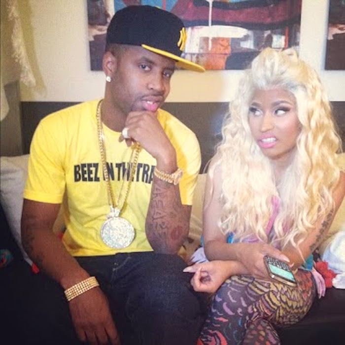 Nicki Minaj and Safaree twitter