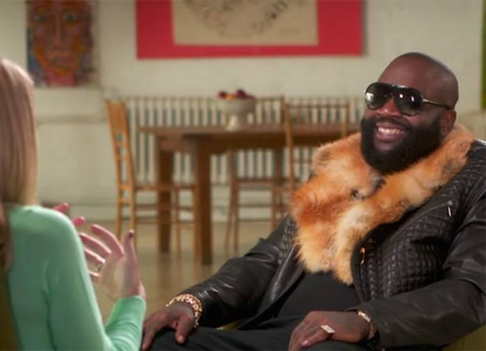 Rick Ross GMA interview