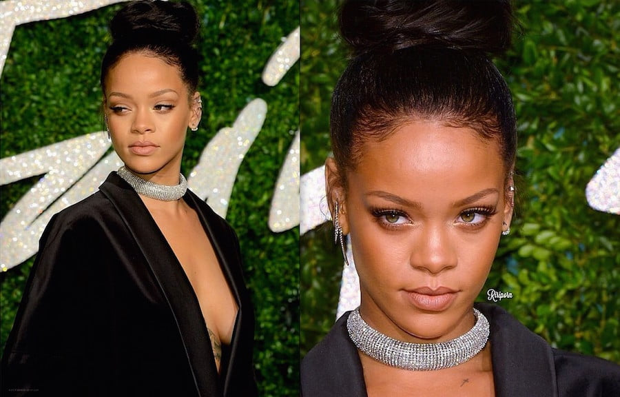 Rihanna Brit Fashion