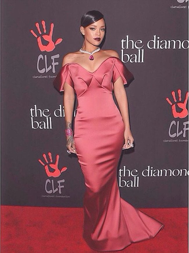 Rihanna CLF Diamond Ball