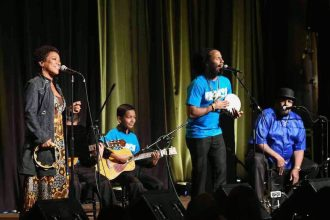 Ziggy Marley Sent Sparks Flying at HOLA Event
