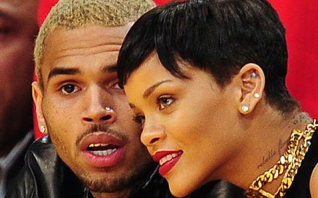 Chris Brown and Rihanna 2015