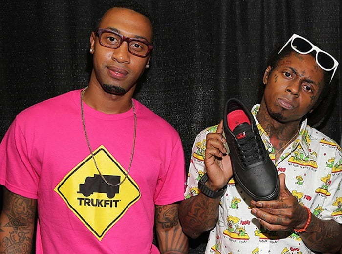 Cortez Bryant and Lil Wayne