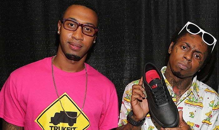 Cortez Bryant and Lil Wayne