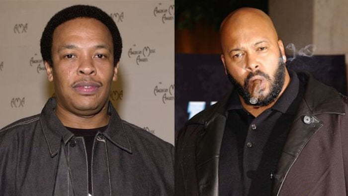 Dre and Suge