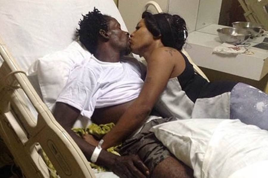Gully Bop and Shauna Chin in Hospital