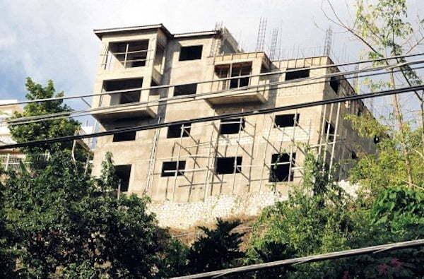 Mavado unfinish house