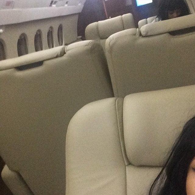Nicki Minaj Private Jet