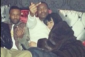 Nicki Minaj And Meek Mill Dating Officially, Cuddles In Nightclub