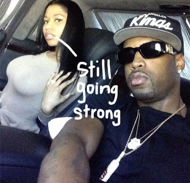 Nicki Minaj and Safaree Samuels back together