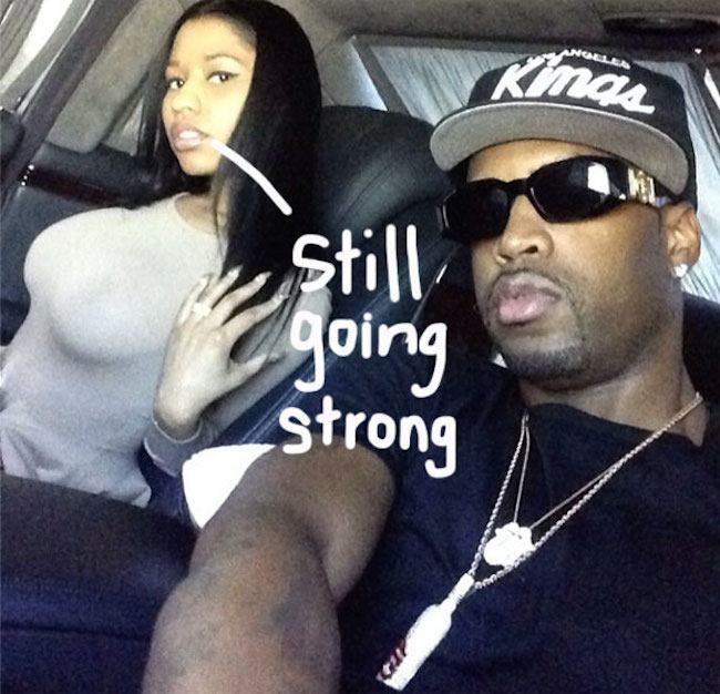 Nicki Minaj and Safaree Samuels back together