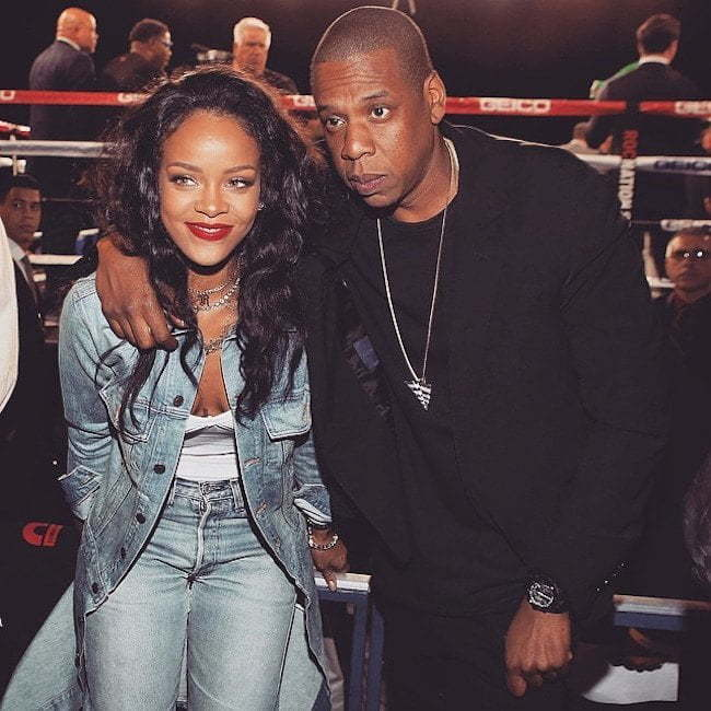 Rihanna and Jay Z 2015
