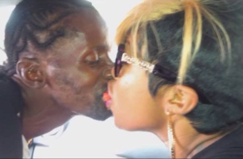 Shauna Chin kissing gully bop