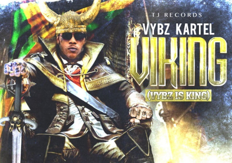 Vybz Kartel VIKING artwork