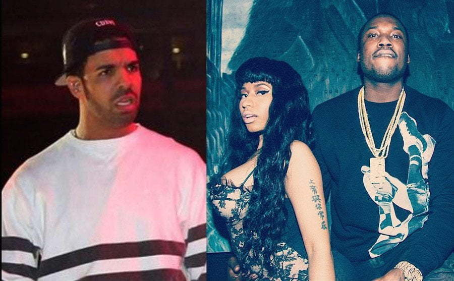 Drake Nicki Minaj and Meek Mill