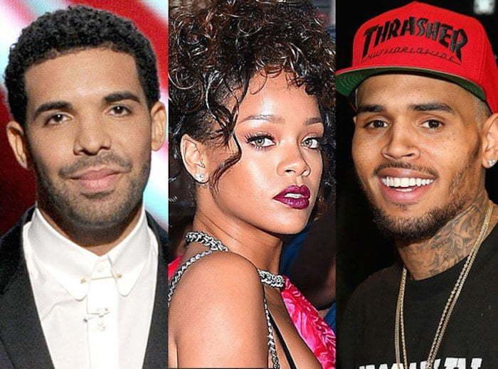 Drake Rihanna and Chris Brown
