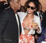 Jay Z and Rihanna Pre Grammy
