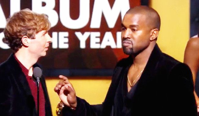 Kanye West and Beck Grammys