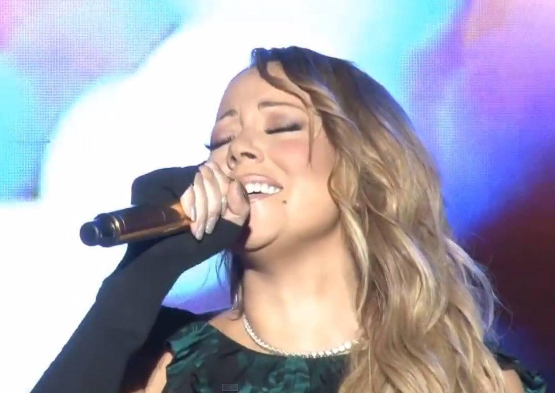 Mariah Carey lip sync