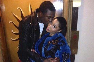 Meek Mill, Nicki Minaj Couple Up And Kissing At Super Bowl Party