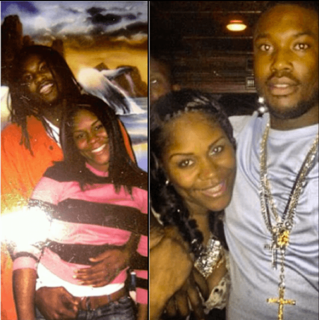 Meek Mill And His Baby Mother Feud Over Nicki Minaj Ex
