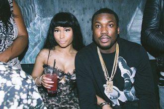 Nicki Minaj And Meek Mill Gets Cozy At  Pre-Grammy Party