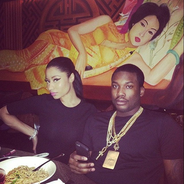 Nicki Minaj and Meek Mill dinner date