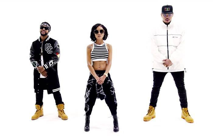 Omarion Jhene Aiko and Chris Brown