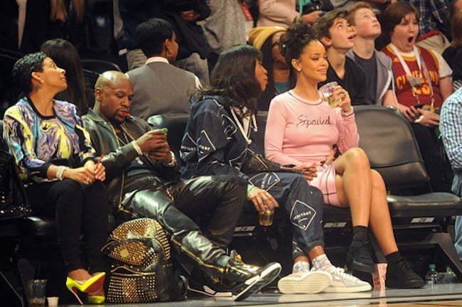 Rihanna Mayweather All Star